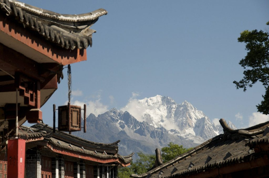 Yunnan Yulong Xueshan in Lijiang