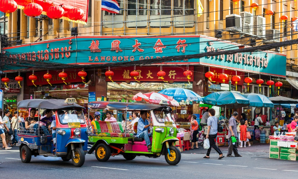 Bangkok to Chiang Mai tour: china town
