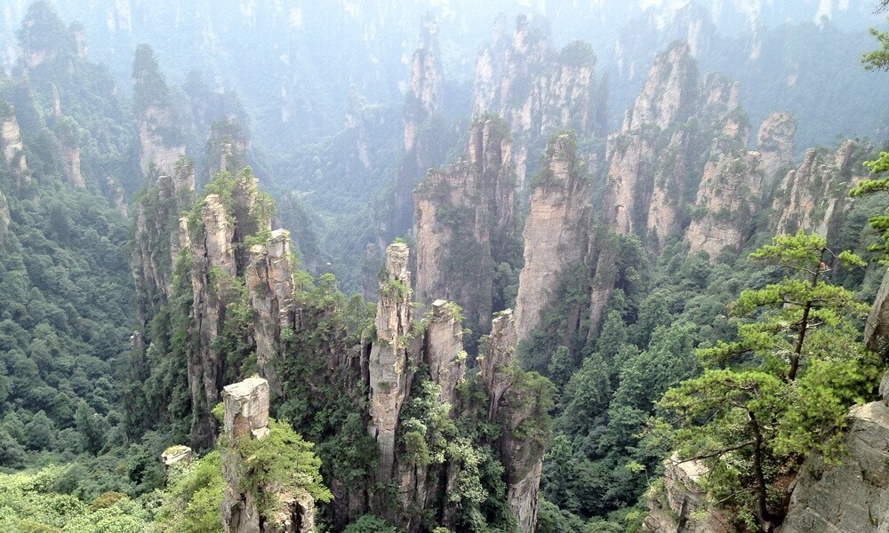 Hunan China tour: Zhangjiajie national park