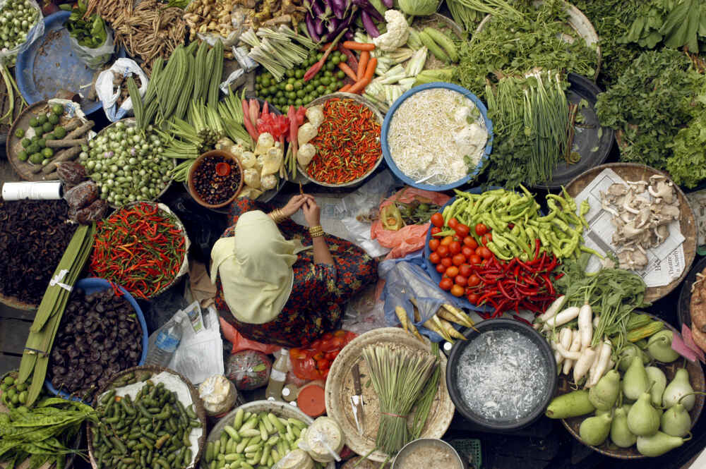 Malaysia local market Sabah adventure tour