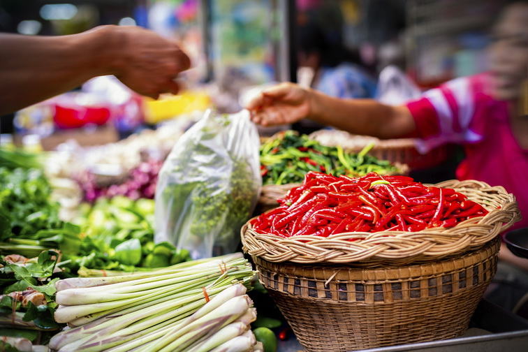 Thailand food tour market