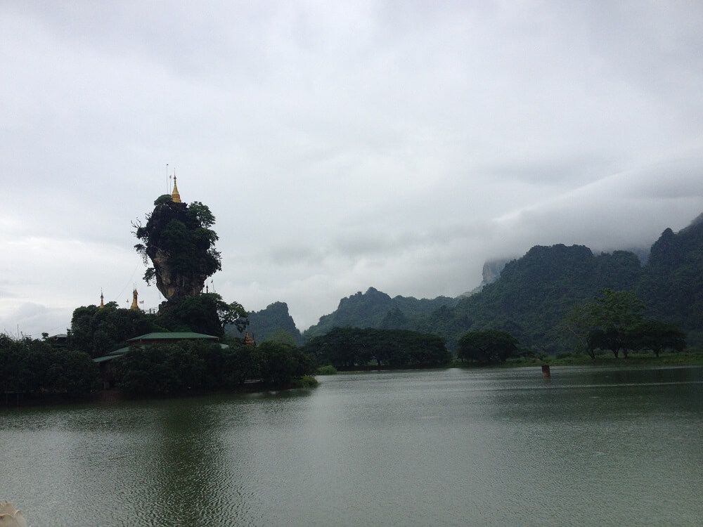 Mawlamyine and Hpa An tour: kyauk ka lat