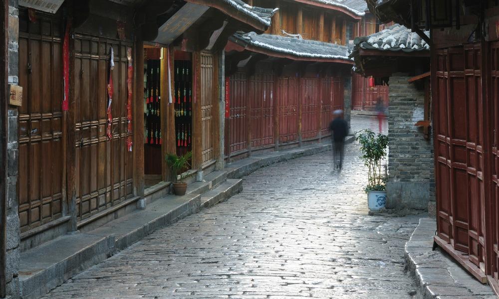 old city of Lijinag, in China
