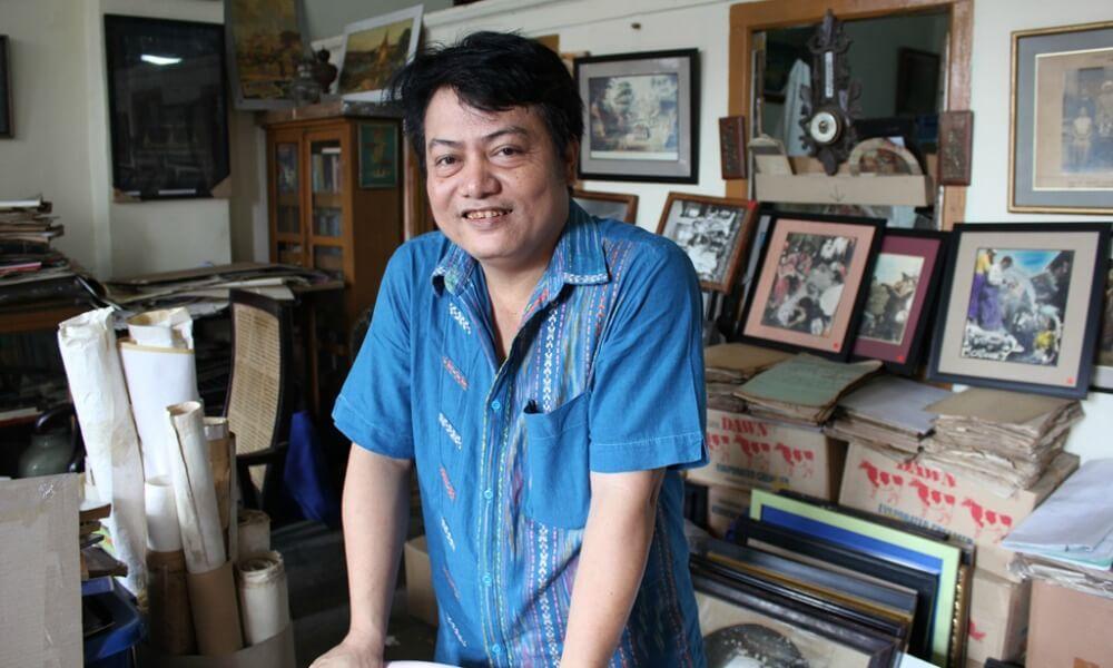 YANGON ART TOUR: local Burmese artist