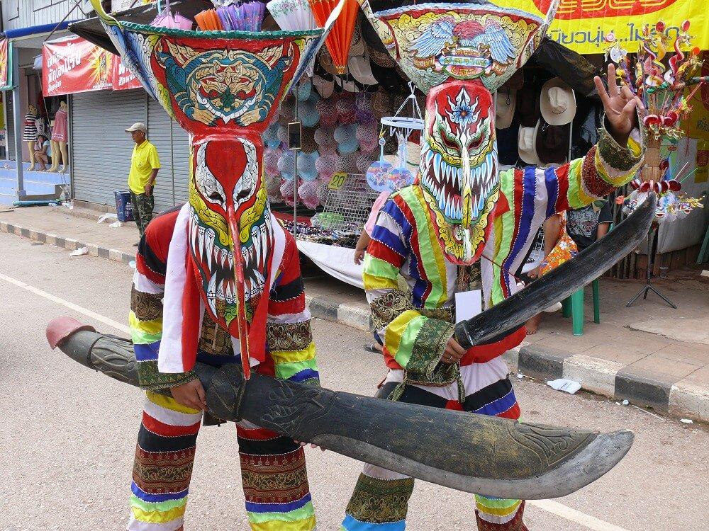 Phi Tha Kon Festival at  Isaan Thailand tour