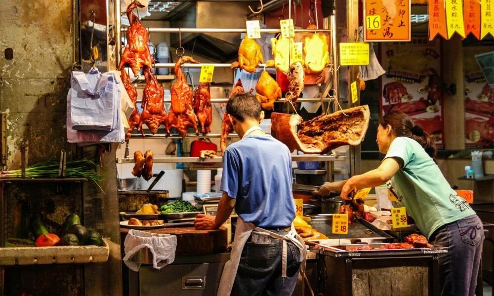 4-day Hong Kong tour: local markets