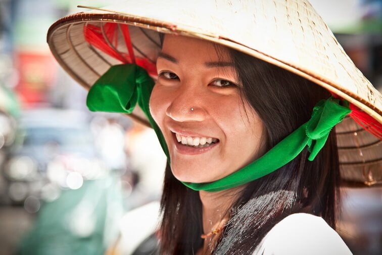 Mekong Delta Family Tour: Vietnamese local smiling