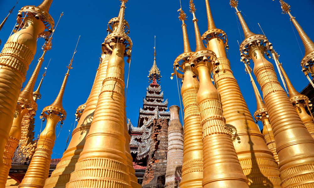 Short Inle Lake Tour: Myanmar temple