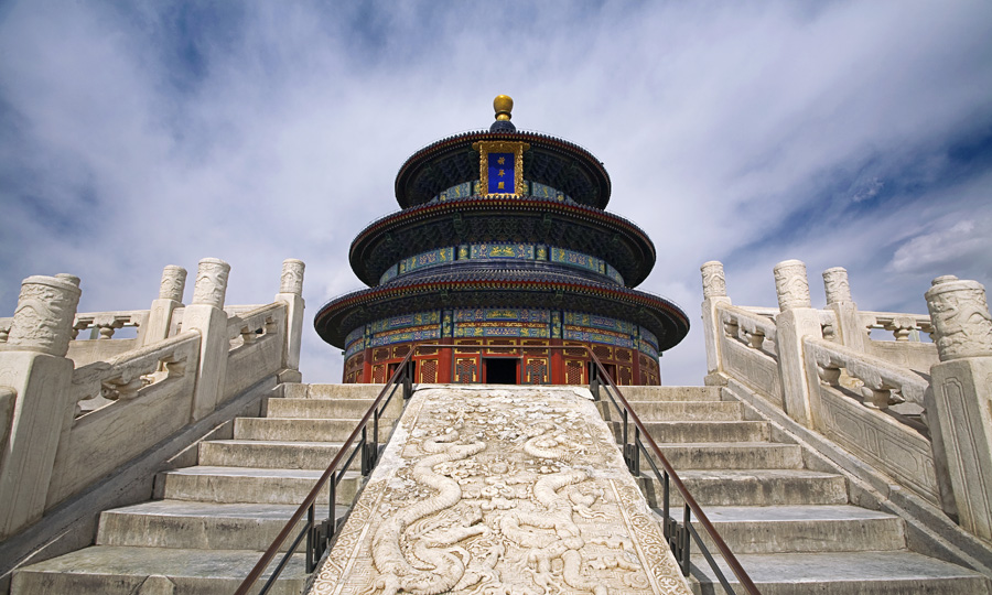 custom China tours: Beijing temple