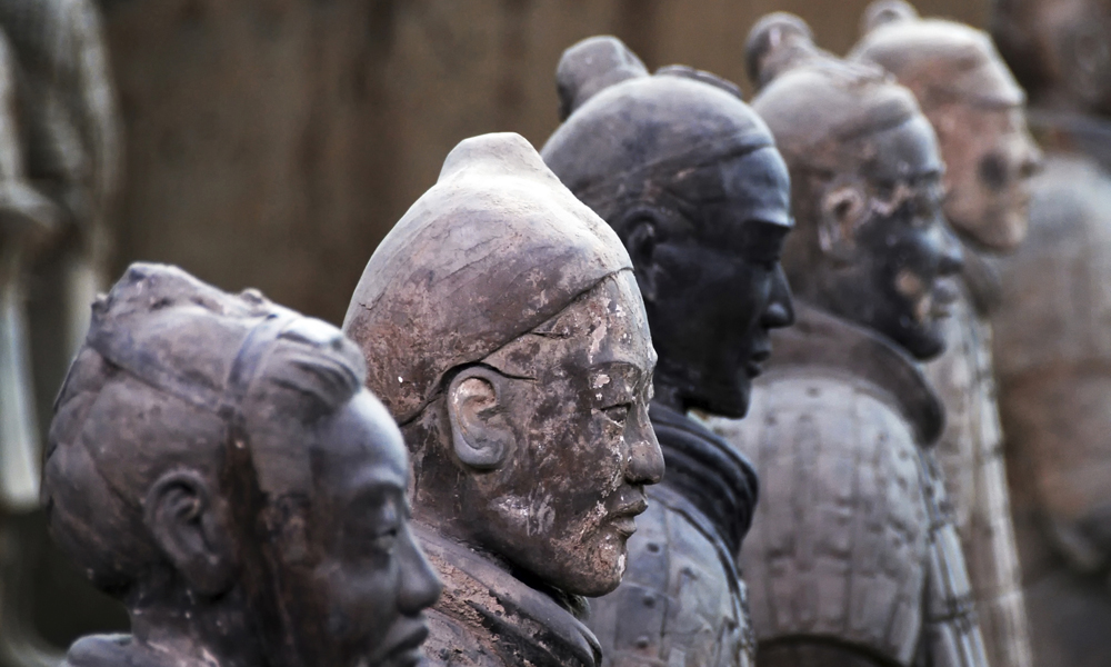 custom China tours: terracotta warriors