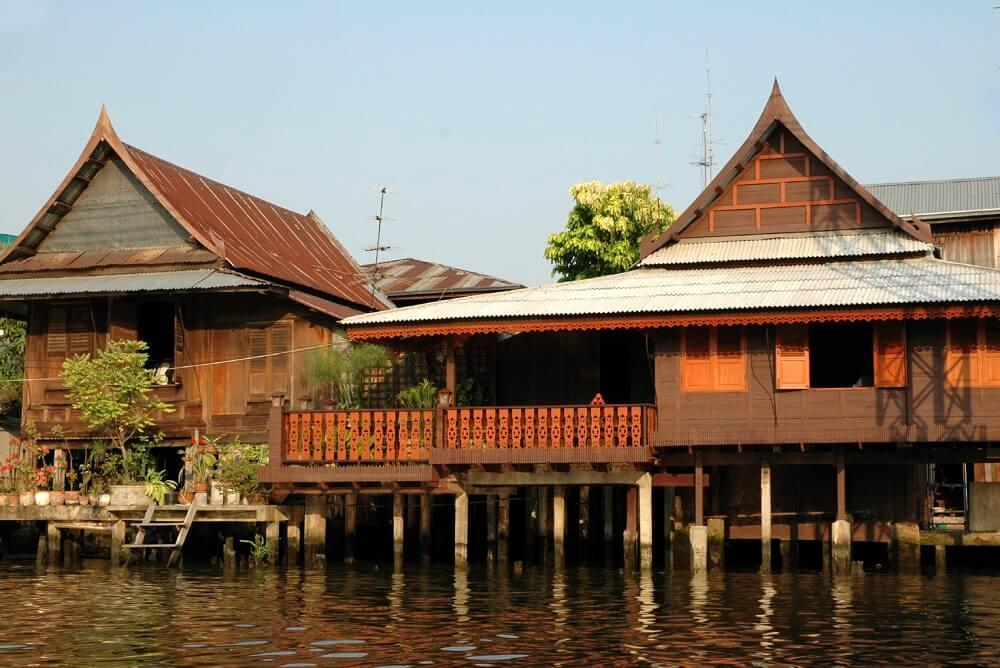 Klong canal in bangkok