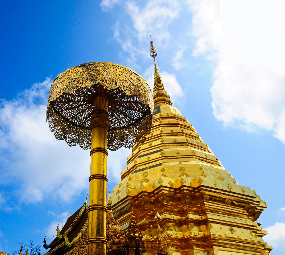 5 day tour in Chiang Mai: Wat Phra That Doi Suthep
