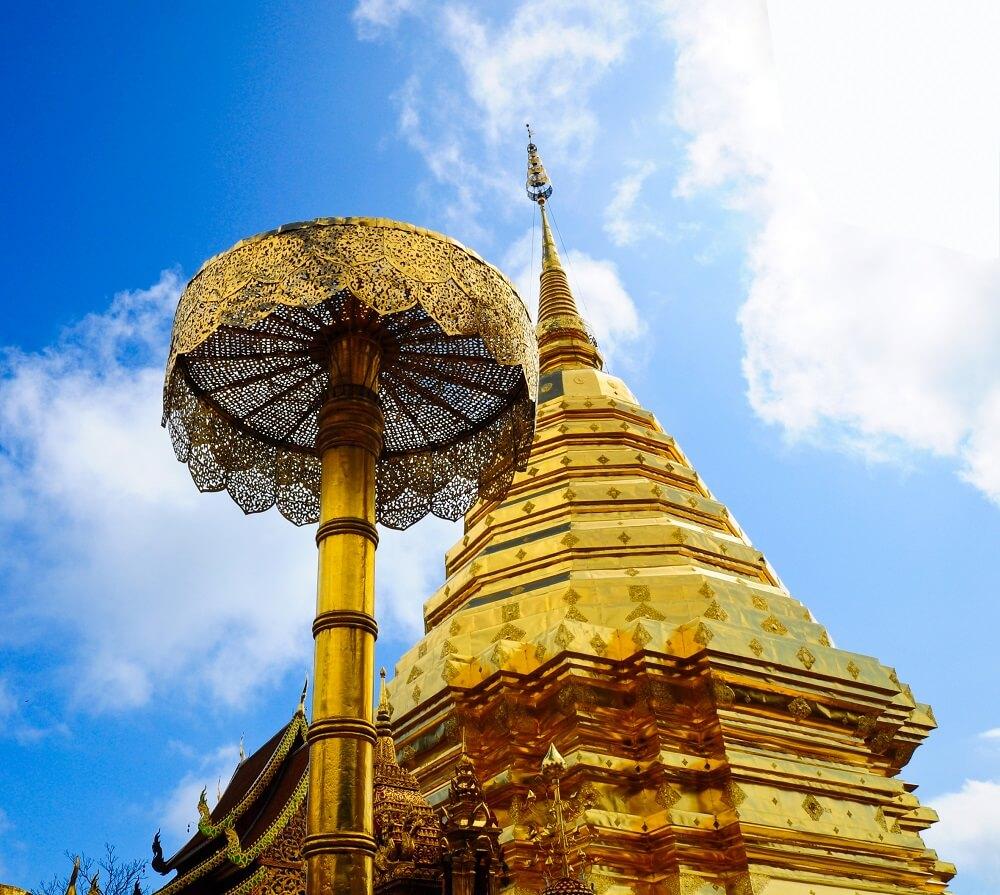 Thailand family tour: Doi Suthep, the golden stupa