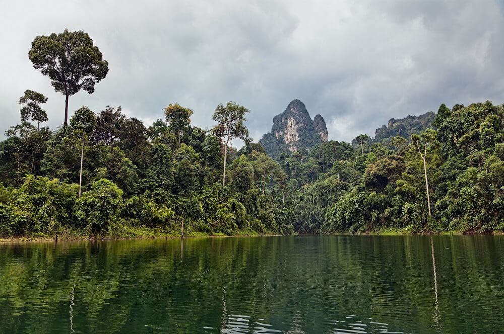 Khao Sok visited on family holiday in Thailand