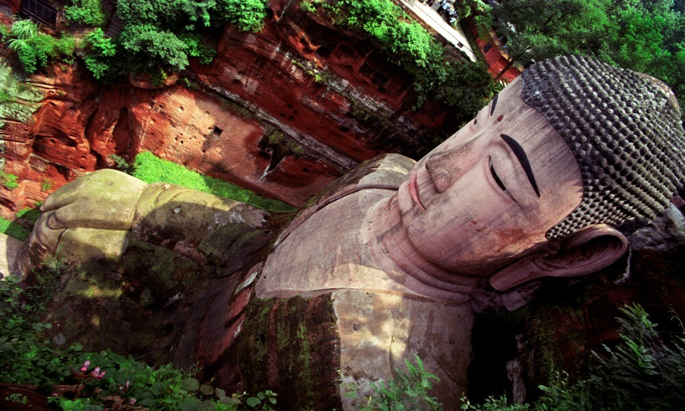 The Big Buddha Leshan Sichuan China