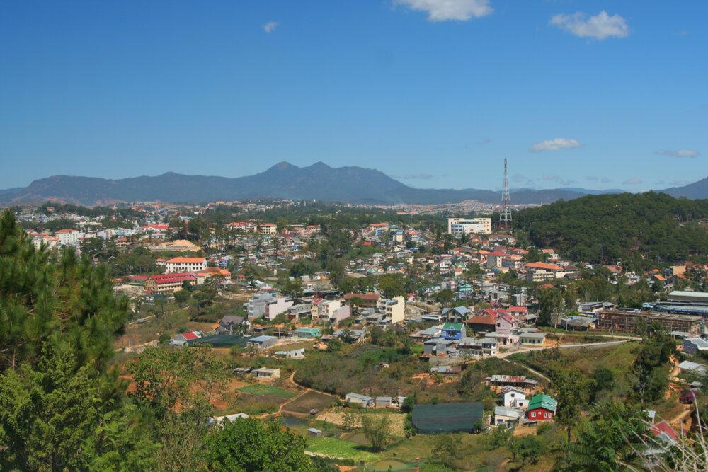 dalat cityscape