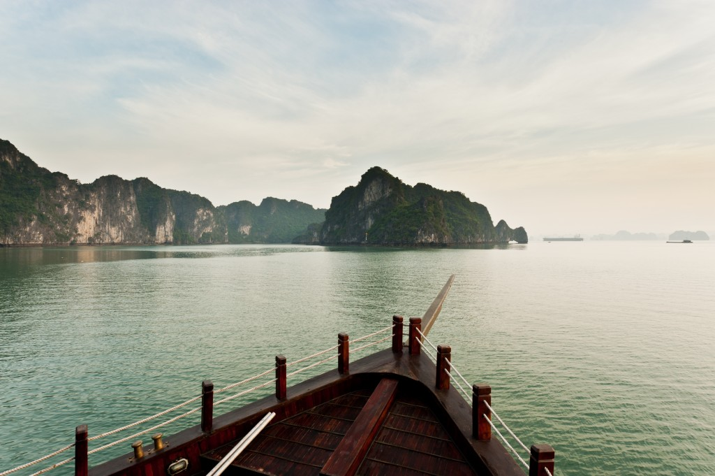 Christmas holidays in Asia - Halong Bay
