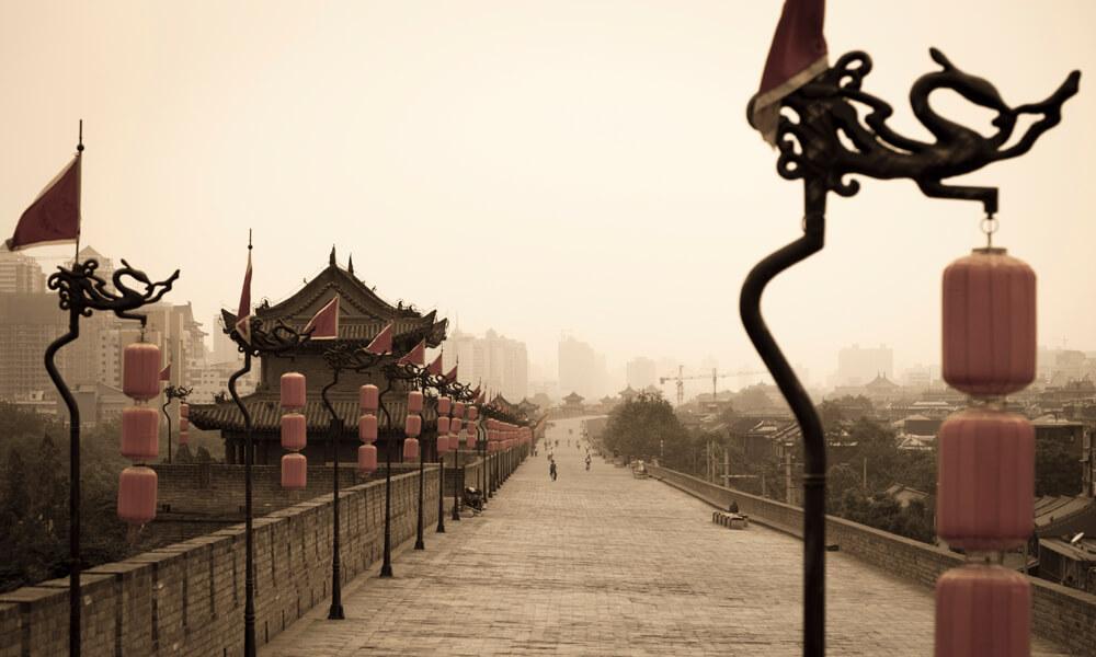 Xi'an City Break: tomb of Emperor Jingdi