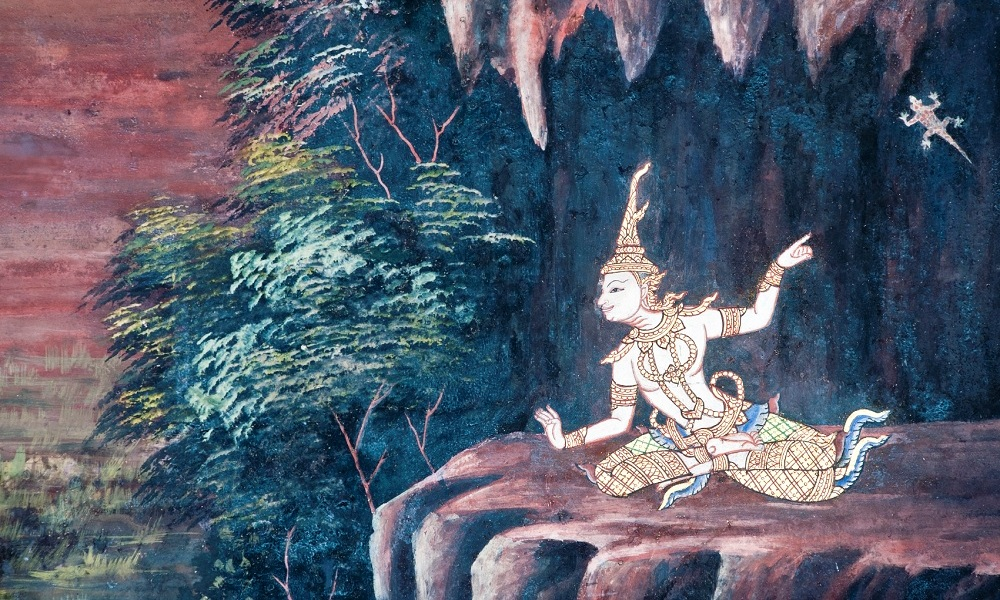 Isaan culinary tour: Thai traditional painting