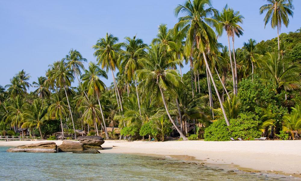 pristine beach in Thailand