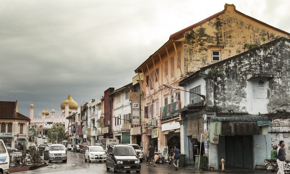 Sarawak Tour: local shops in Kuching