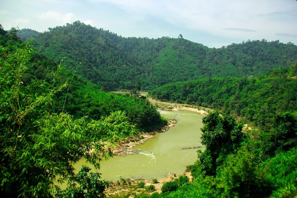 mountain and river Southern Myanmar Tour