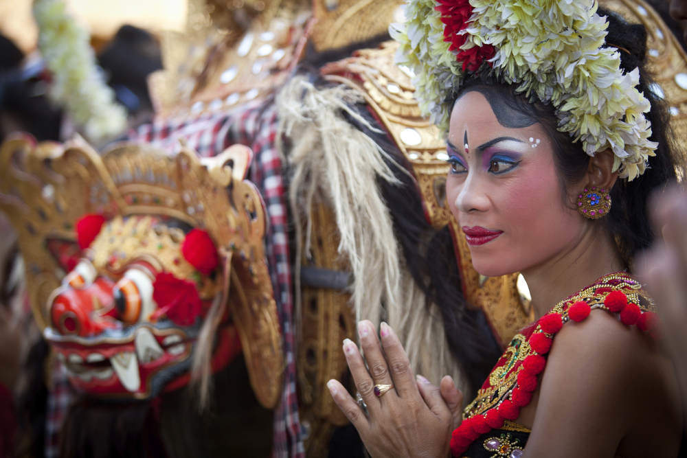 Indonesia Balinese dancer