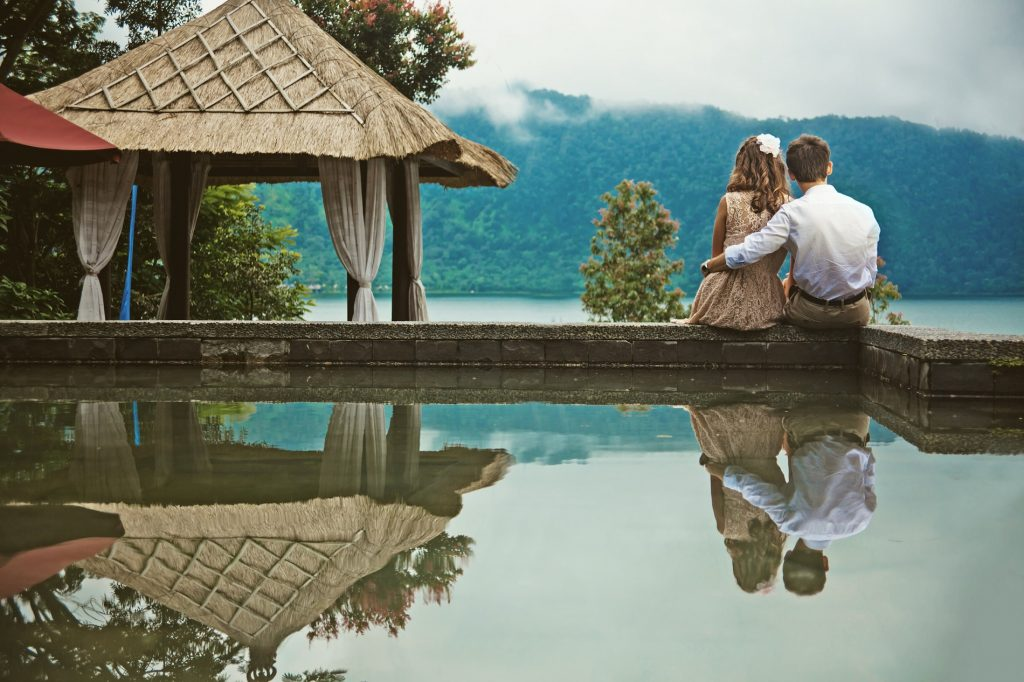 Bali for a Southeast Asian honeymoon