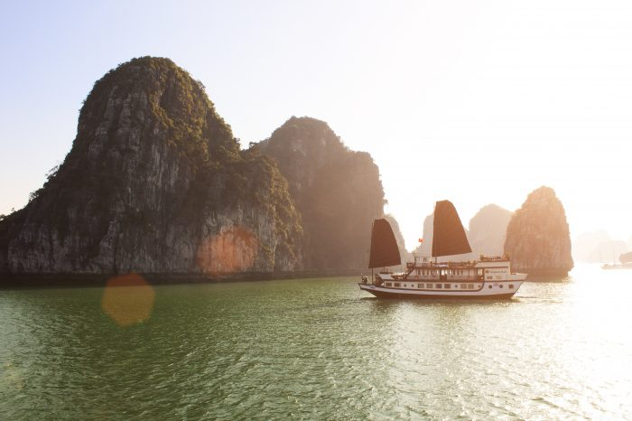 Beautiful Bai Tu Long Bay Cruise