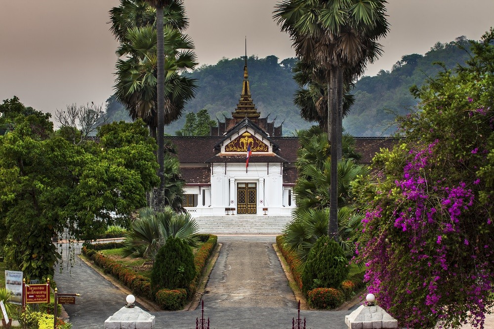 Laos responsible tour:  Luang Prabang Royal Palace Haw Kham