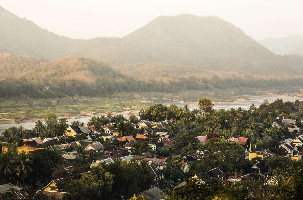 Christmas holidays in Asia - Luang Prabang, Laos