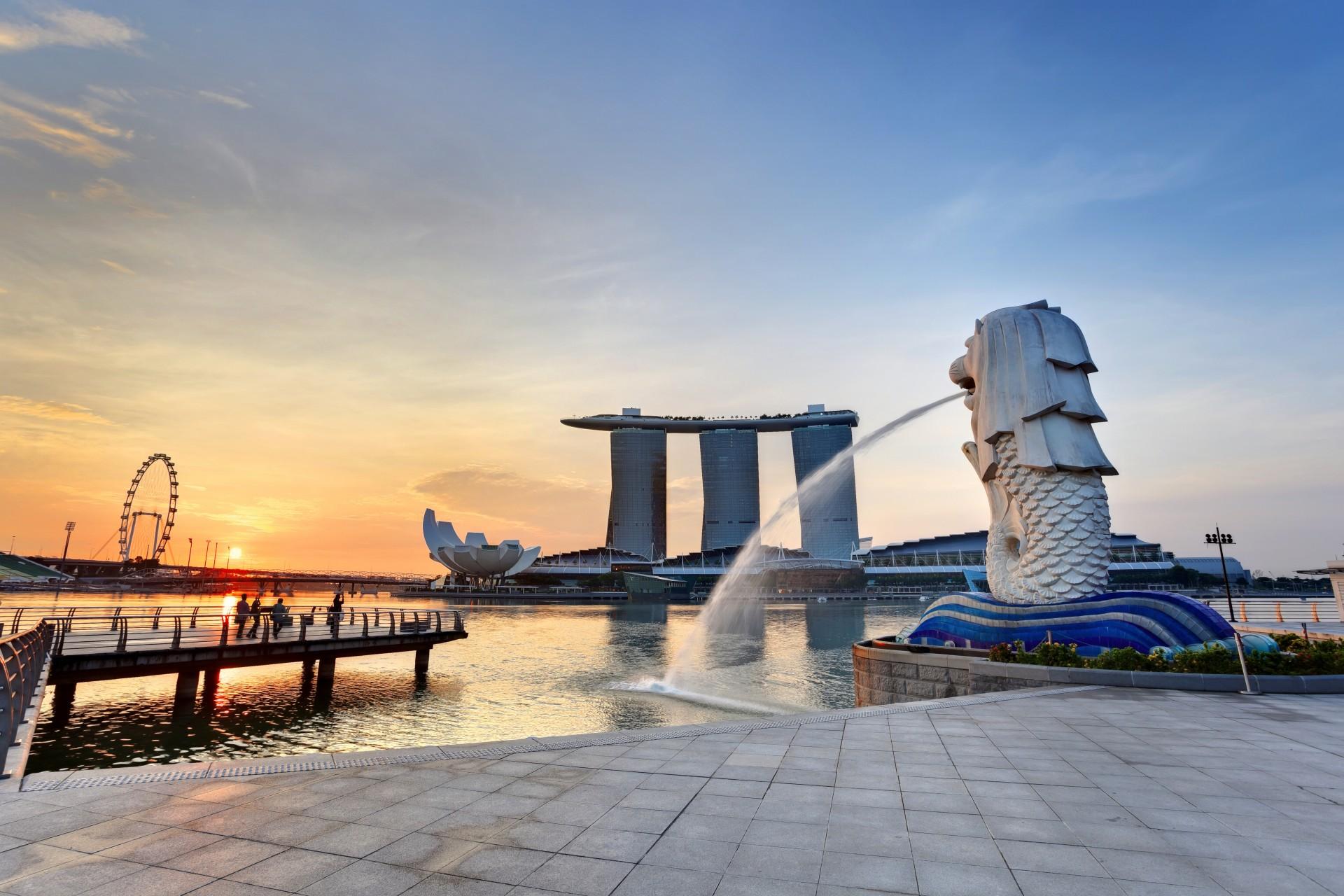 Best of Singapore - Marina Bay - Merlion