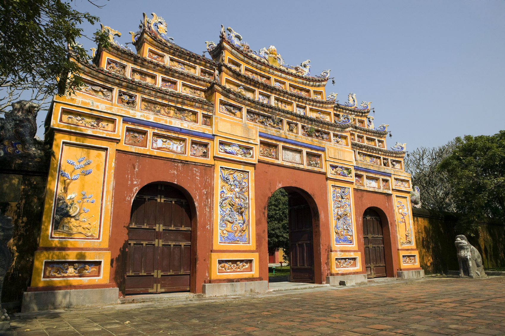 Vietnam - Hue - Gateway to the Imperial Citadel