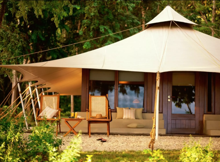 Luxury Glamping in Southease Asia - Amawana, Moyo Island Indonesia