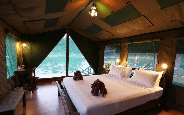 Luxury Glamping in Southeast Asia - Elephant Hills Rainforest Camp, Khao Sok