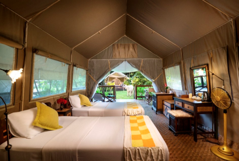 Luxury Glamping in Southeast Asia - Hintok River Camp at Hellfire Pass, Kanchanaburi Thailand