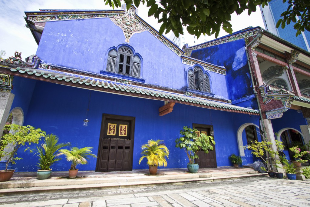 Malaysia - Georgetown - Cheong Fatt Tze the Blue mansion