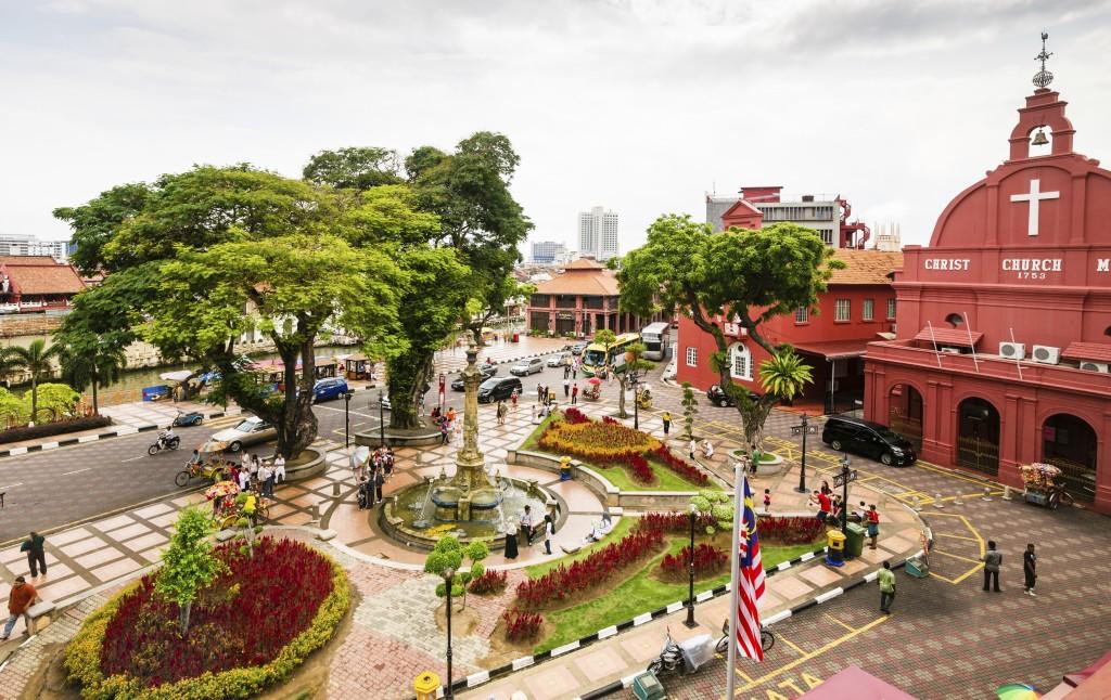 Malaysia - Malacca - Stadthuys Square