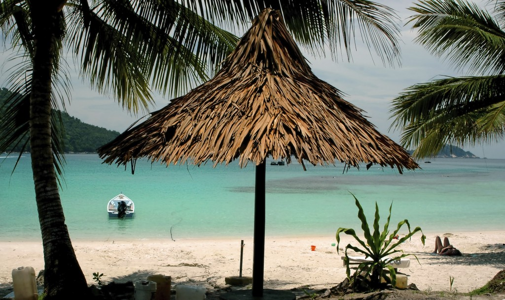 Malaysia - Cabana by the beach Redang island