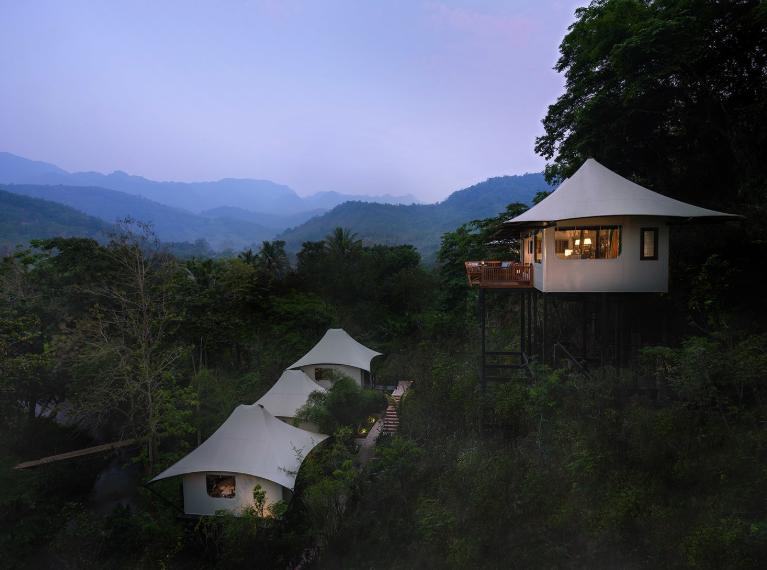 Luxury Glamping in Southeast Asia - Rosewood, Luang Prabang Laos