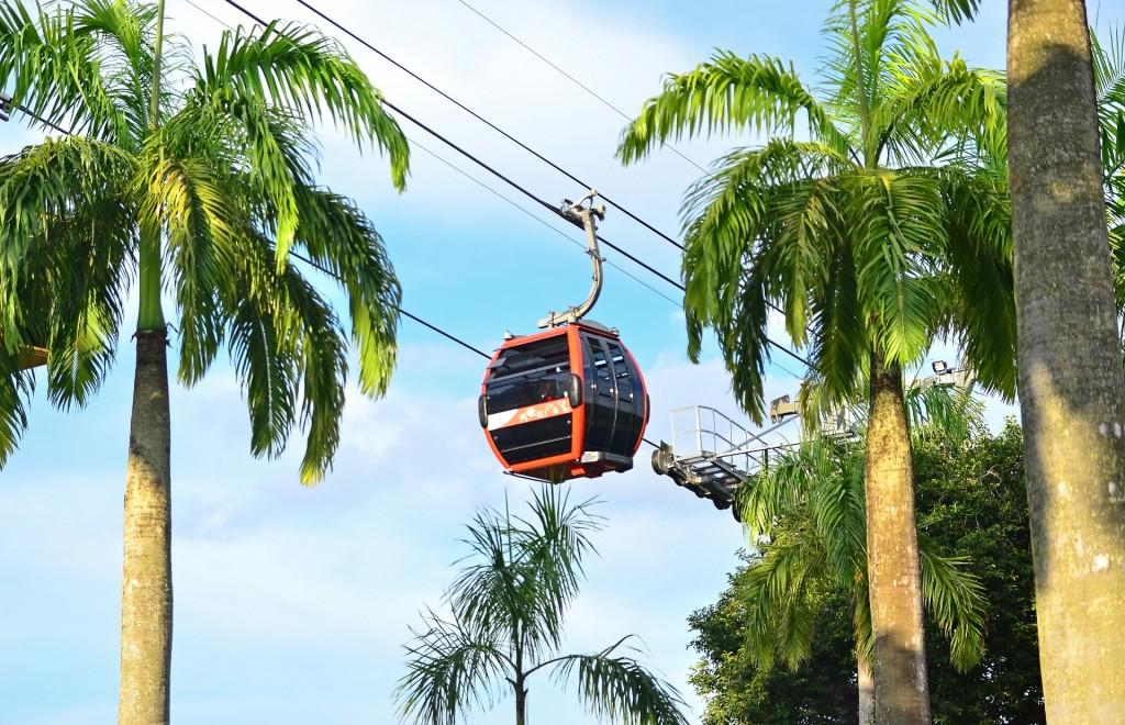 Cable car, Sentosa island