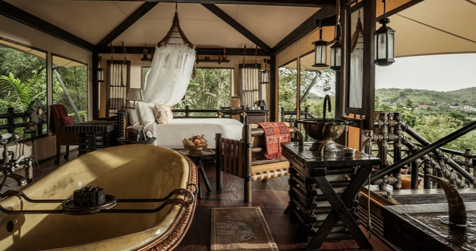 Luxury Glamping in Southeast Asia: Four Seasons Chiangrai, Thailand