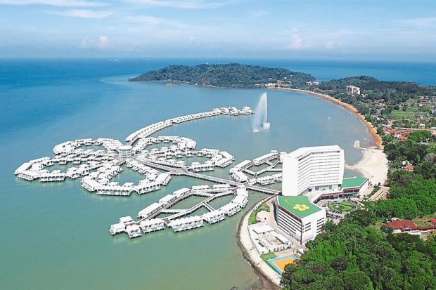 Port Dickson from above - Malaysia