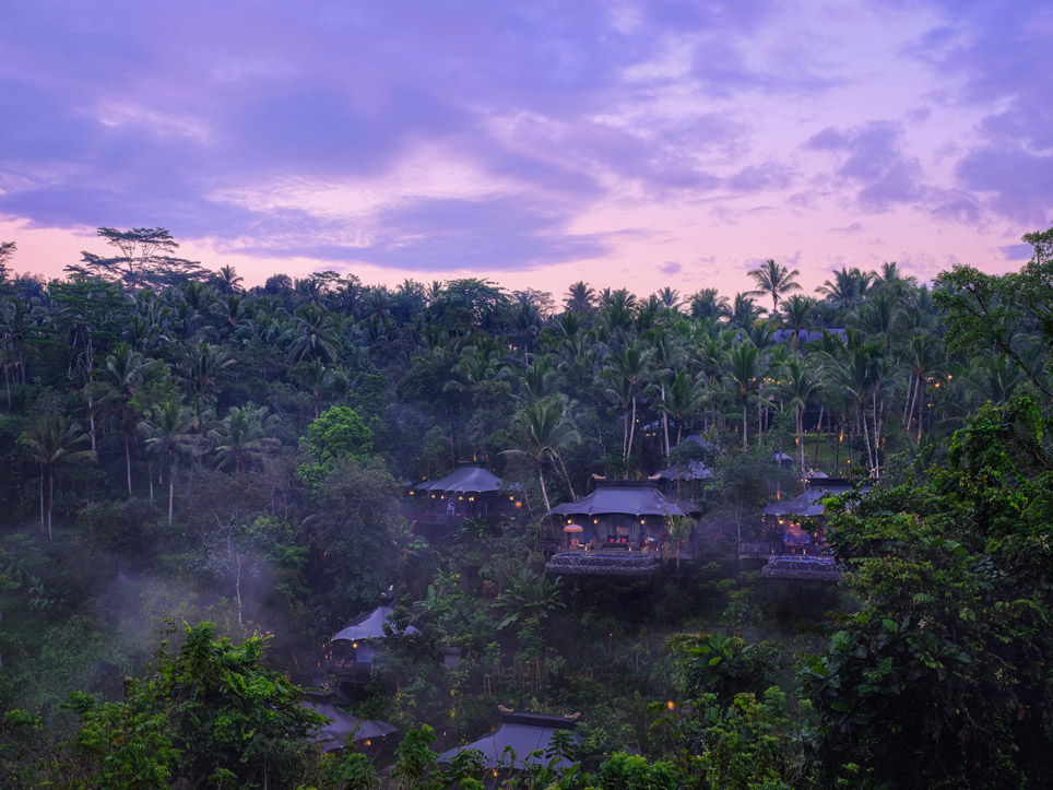 Luxury Glamping - Capella Hotel, Ubud Indonesia