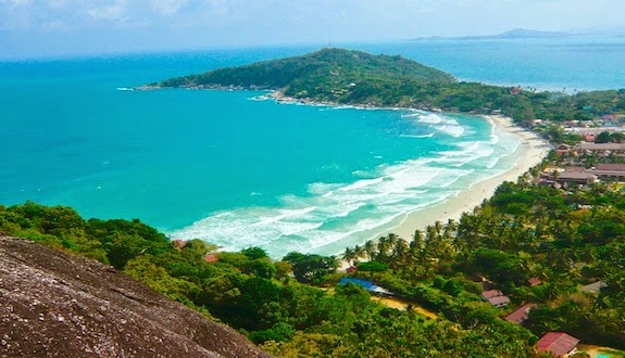 Most famous beach in Thailand: Haad Rin