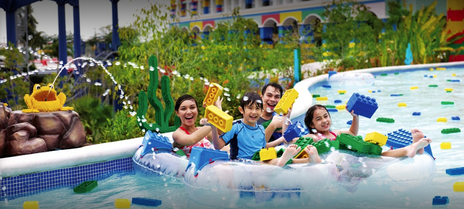 Best place to go in Malaysia with family: Legoland
