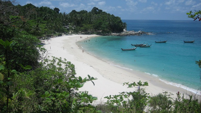 Most famous beach in Thailand: Patong beach