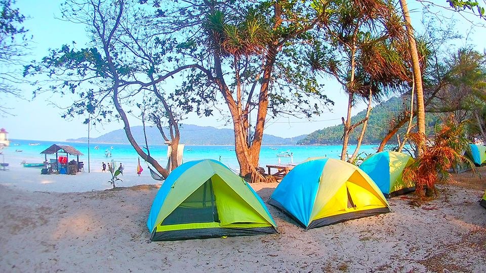 Perhentian Islands, Malaysia: Long Beach Campsites