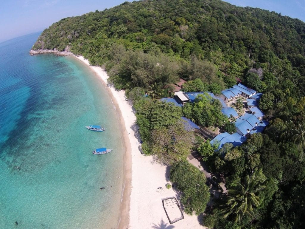 Perhentian Islands, Malaysia top view