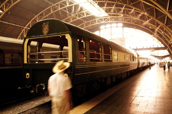 ALL ABOARD THE ORIENT EXPRESS FROM BANGKOK TO SINGAPORE